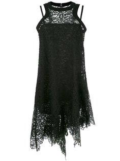 гипюровое платье Sacai