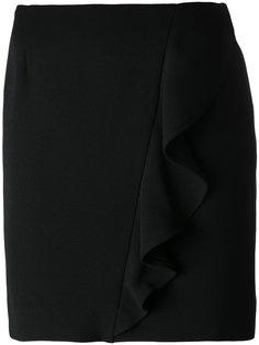 юбка с отделкой оборкой Iro