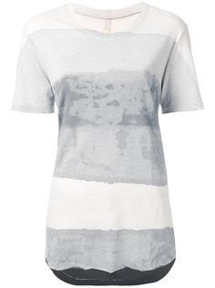 выбеленная футболка Raquel Allegra