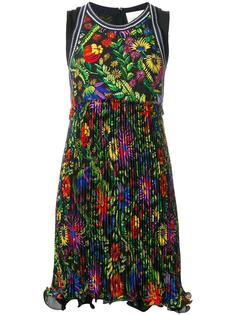плиссированное платье с цветочным рисунком 3.1 Phillip Lim