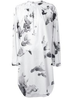 платье-рубашка с рисунком A.F.Vandevorst