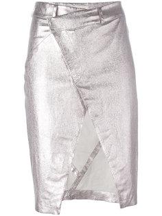 юбка-карандаш с открытым передом A.F.Vandevorst