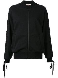 куртка-бомбер  с вышивкой A.F.Vandevorst