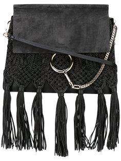 сумка на плечо Faye с бахромой Chloé