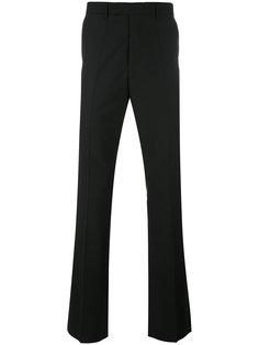 слегка расклешенные брюки Raf Simons
