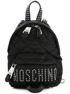 стеганый мини рюкзак Moschino