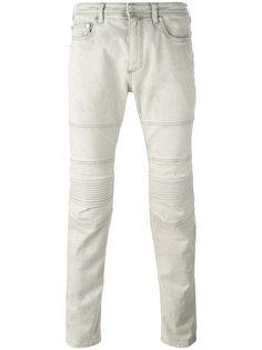 джинсы с панельным дизайном Neil Barrett