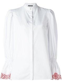 блузка с пышными рукавами Alexander McQueen