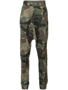 камуфляжные спортивные брюки Haculla