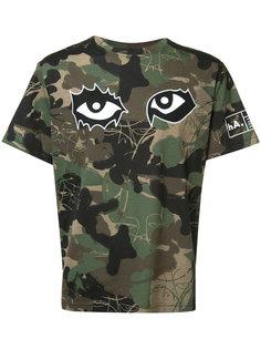 футболка с камуфляжным узором Haculla