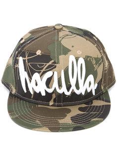 камуфляжная кепка с принтом логотипа Haculla