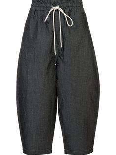 укороченные брюки свободного кроя Mostly Heard Rarely Seen