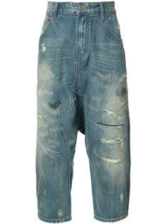 укороченные джинсы Mostly Heard Rarely Seen