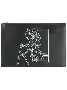 клатч с принтом Bambi  Givenchy