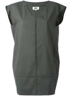 мини-платье с панельным дизайном Mm6 Maison Margiela