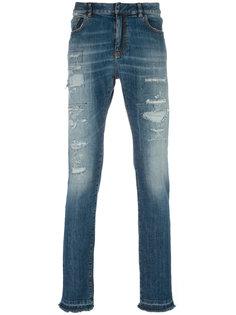 джинсы кроя слим с потертой отделкой Faith Connexion