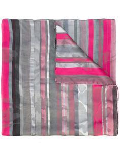 полосатый шарф Armani Collezioni