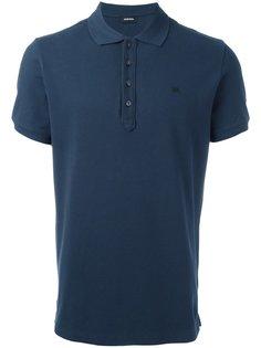 рубашка-поло с логотипом Diesel