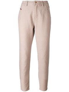брюки с завышенной талией Diesel