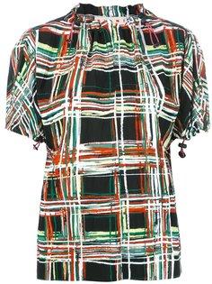 блузка с принтом Scribble  Marni