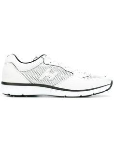 кроссовки с панельным дизайном Hogan