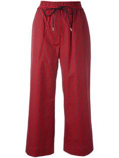 полосатые укороченные брюки  3.1 Phillip Lim