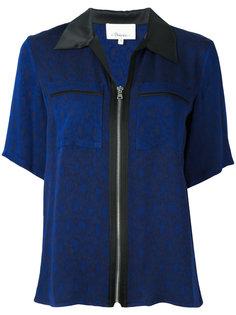 рубашка с короткими рукавами и молниями 3.1 Phillip Lim