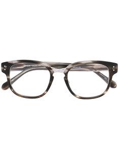 оптические очки в квадратной оправе  Linda Farrow