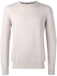 свитер с контрастной окантовкой  Fay