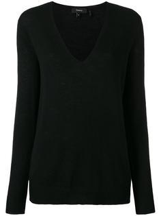 свитер c V-образным вырезом   Theory