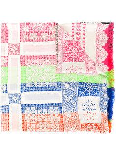 шарф с отделкой кружевом Pierre-Louis Mascia