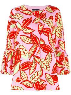 куртка с растительным принтом Boutique Moschino