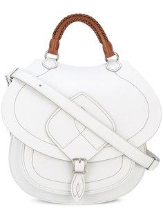 полукруглая сумка с верхней ручкой Maison Margiela