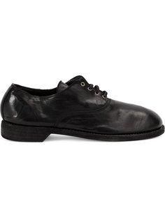 туфли на шнуровке  Guidi