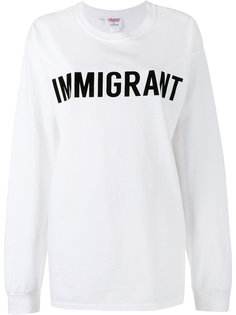 толстовка Crew Neck Immigrant  Ashish