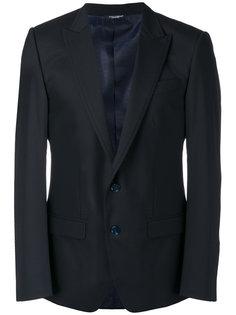 пиджак с заостренными лацканами Dolce & Gabbana