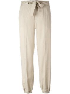брюки с присборенными щиколотками Blumarine