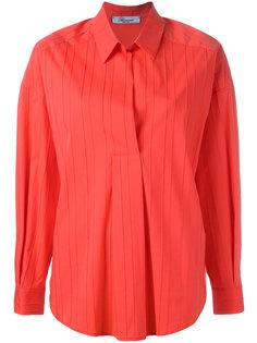 рубашка с ребристой фактурой Blumarine
