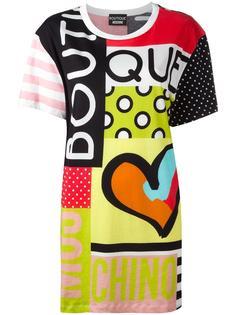 футболка с прином  Boutique Moschino