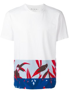 футболка с орнаментом Marni