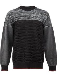 двухцветный свитер  08Sircus