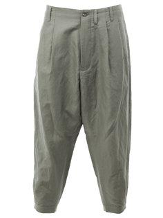 укороченные брюки свободного кроя  08Sircus