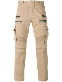 байкерские брюки карго Balmain