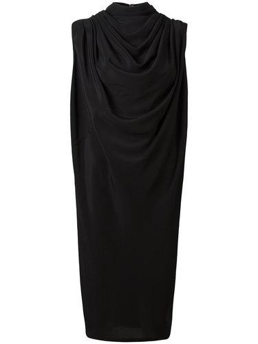 платье миди с драпировкой Rick Owens