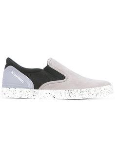 кроссовки с контрастным дизайном Hogan Rebel