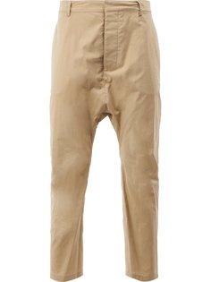укороченные брюки с заниженной шаговой линией Balmain