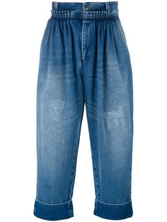 укороченные джинсы  JW Anderson