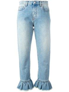укороченные джинсы MSGM