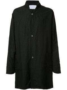 однобортное пальто Private Stock