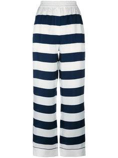 широкие полосатые брюки Dolce & Gabbana
